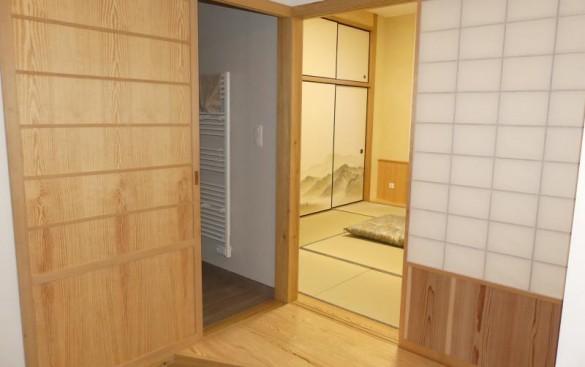 Creation d' une chambre japonaise  sur mesure à  Etampes 91